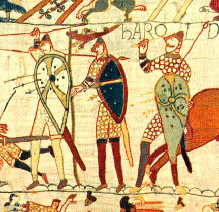 Bayeux Tapestry Illustration
