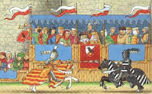 Jousts & Tournaments Illustration