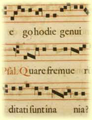 Gregorian Chants Illustration